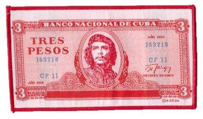 Che Guevara patch 'Tres Pesos'