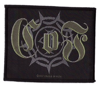 Cradle of Filth patch 'gothic logo'