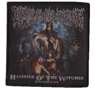 Cradle of Filth patch 'Hammer of the Witches'