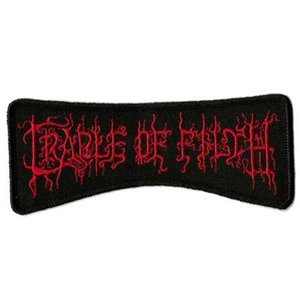 Cradle of Filth patch 'logo'