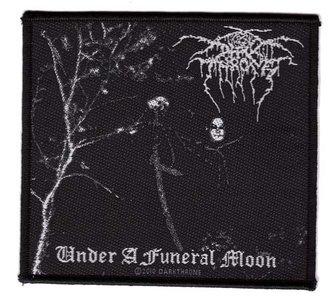 Darkthrone patch 'Under A Funeral Moon'
