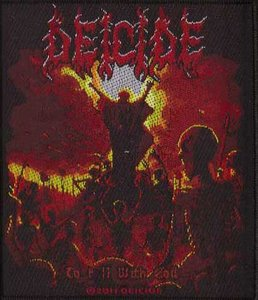Deicide patch - To Hell With God