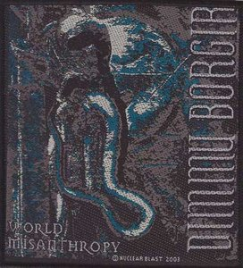 Dimmu Borgir patch 'World Misanthropy'