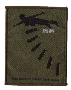 Green Day patch 'Bombs'