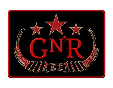 Guns N Roses patch - Chinese Democracy