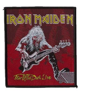 Iron Maiden patch 'Fear of the Dark live'