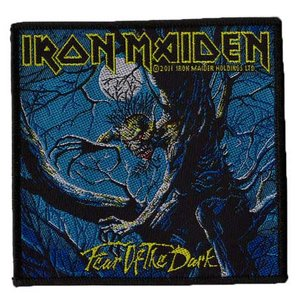 Iron Maiden patch 'Fear of the Dark'