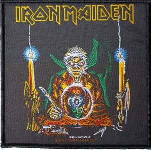 Iron Maiden patch 'The Clairvoyant'