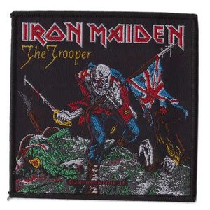 Iron Maiden patch 'The trooper'