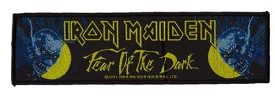 Iron Maiden superstrip patch 'Fear of the Dark'