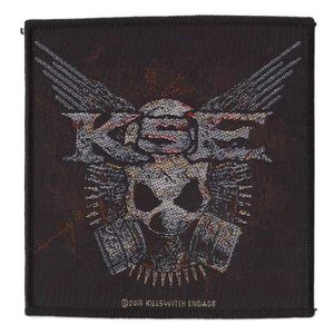 Killswitch Engage patch 'Gas Mask'