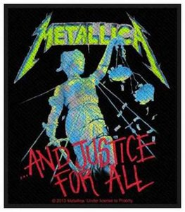 Metallica patch '...And Justice For All'