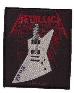 Metallica patch 'Eet Fuk'