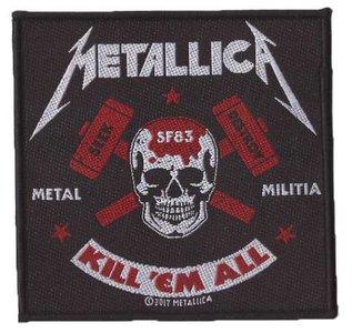 Metallica patch 'Metal Militia'