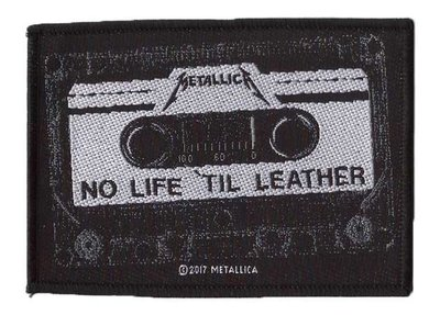 Metallica patch 'No Life Till Leather'