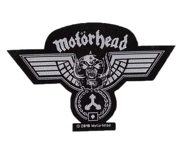 Motorhead patch 'Hammered cut out'