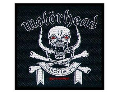 Motorhead patch 'March Or Die'