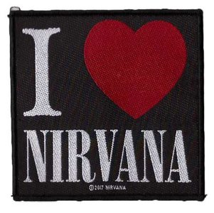 Nirvana patch - I Love Nirvana