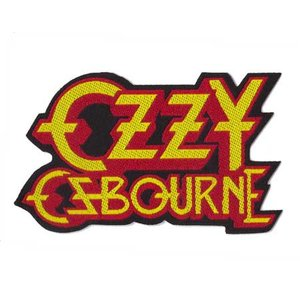 Ozzy Osbourne patch 'logo'