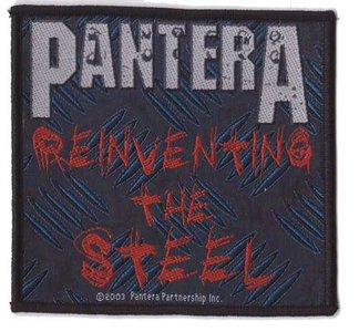 Pantera patch 'Reinventing The Steel'