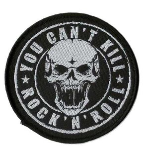 patch 'You can't kill Rock 'n Roll'