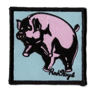 Pink Floyd patch 'Animals Pig'