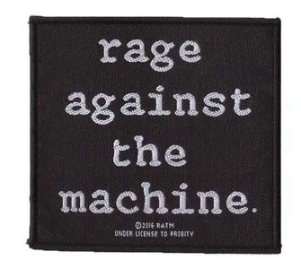 Rage Against The Machine patch 'Logo'