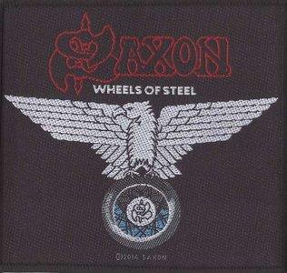 Saxon patch 'Wheels of Steel'