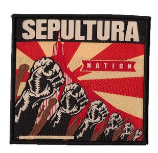 Sepultura patch 'Nation'