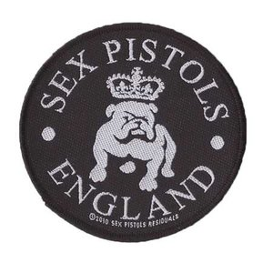 Sex Pistols patch 'Bull Dog'