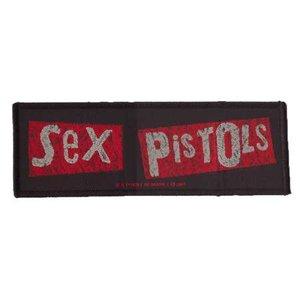 Sex Pistols patch 'logo strip'