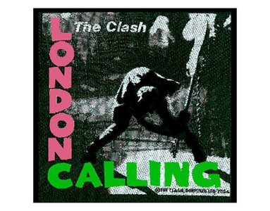 The Clash patch 'London Calling'