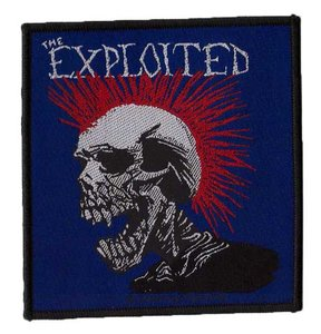 The Exploited patch - Mohican