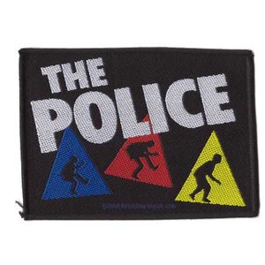 The Police patch 'Triangles'