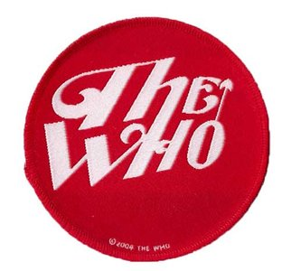The Who patch 'Red Logo'