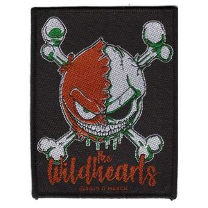 The Wildhearts patch - Green Skull