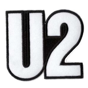U2 patch 'Logo'