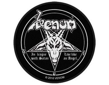 Venom patch - In League With Satan