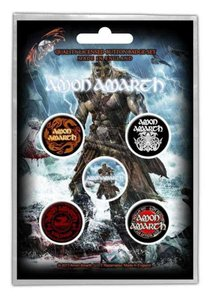 Amon Amarth button set - Jomsviking