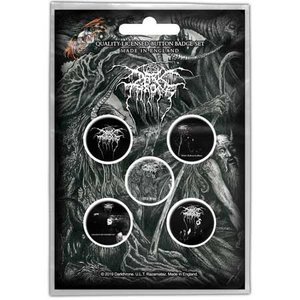 Darkthrone button set  'Old Star'