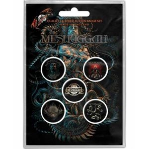 Meshuggah button set - Violent Sleep Of Reason