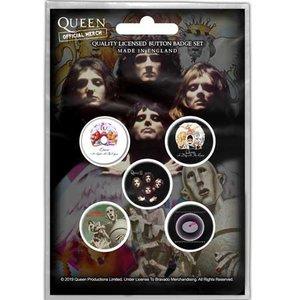 Queen button set 'Early Albums'