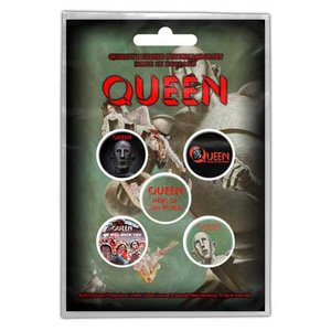 Queen button set 'News of the world'