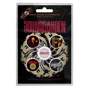 Soundgarden button set - Badmotorfinger