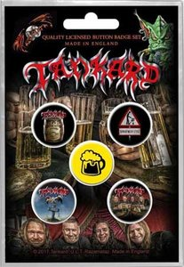Tankard button set - One Foot In The Grave