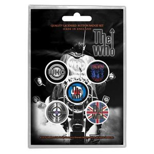 The Who button set - Quadrophenia