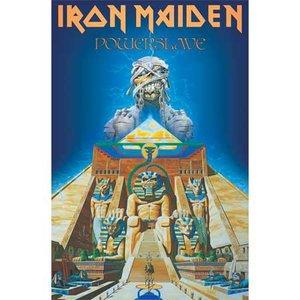 Iron Maiden textielposter 'Powerslave'