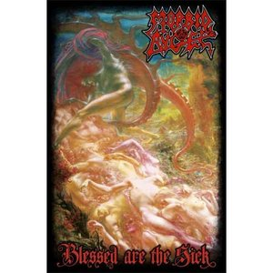 Morbid Angel textielposter 'Blessed are the sick'