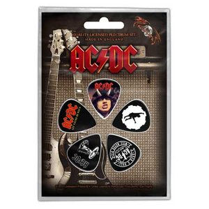 AC/DC plectrum set (5 stuks)