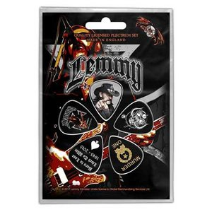Lemmy plectrum set 'Stone Deaf Forever'
